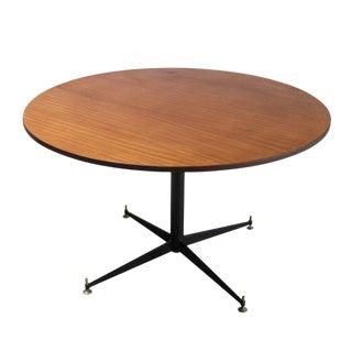 Italian Pedestal Table, style of Osvaldo Borsani For Sale