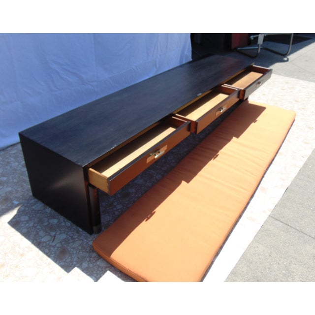 3-Drawer Coffee Table/Bench With Cushion - Image 8 of 11
