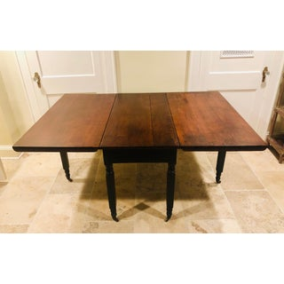 Early 19th Century Sheraton Rustic Drop Leaf Table Preview