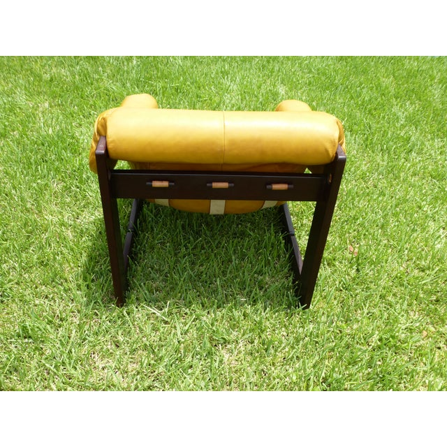 1960s Percival Lafer Lounge Chair in Rosewood and Leather For Sale - Image 5 of 11