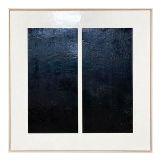 "Exclusive John O'Hara ""Midnight Window, 1"" Encaustic Painting"
