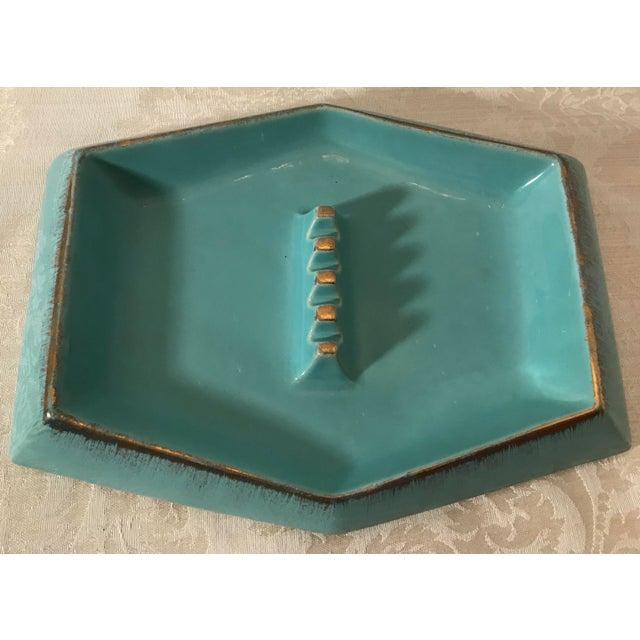 Mid Century Modern Rossini Pegasus Ceramic Ashtray For Sale - Image 5 of 11