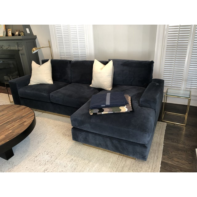 Contemporary Style de Vie Custom Modern Sectional For Sale - Image 3 of 5