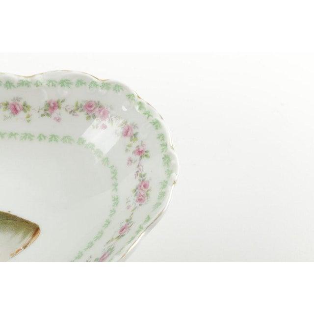 Carlsbad Porcelain Austrian Ls (Lewis Straus) & S Carlsbad Porcelain Fish Platter For Sale - Image 4 of 9