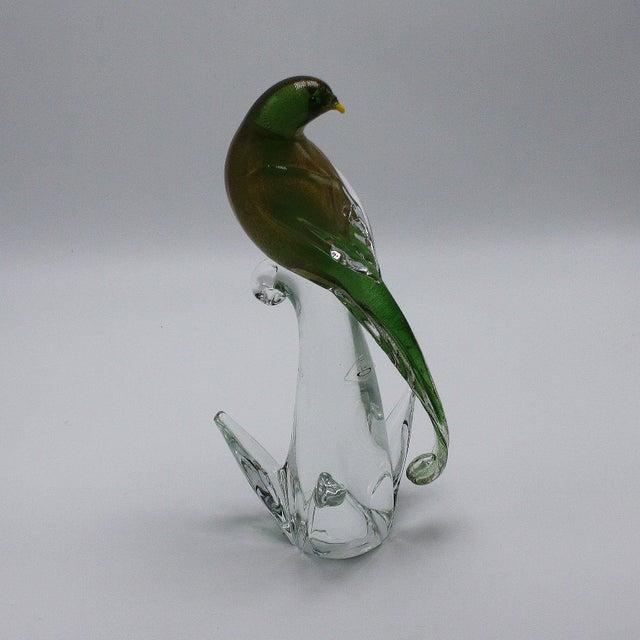 1970s Formia Vetri DI Murano Glass Bird For Sale In Dallas - Image 6 of 7