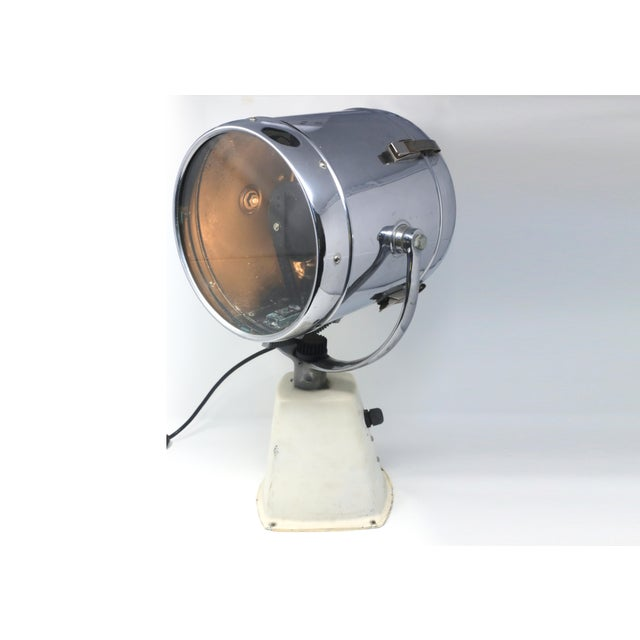 Vintage Ray-Line Marine Search Light - Newly Rewired - Vintage Lamp For Sale - Image 13 of 13