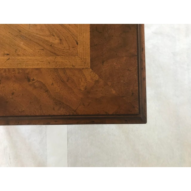 Chestnut 1970s Traditional Heritage Side Table For Sale - Image 8 of 13