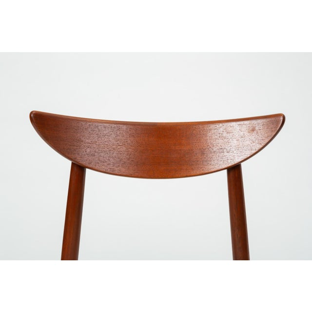 1960s Single Teak Dining / Accent Chair by Harry Østergaard for Randers Møbelfabrik For Sale - Image 10 of 13