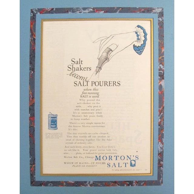 1920's Vintage American Advertisement - Good Housekeeping Magazine - Morton's Salt For Sale