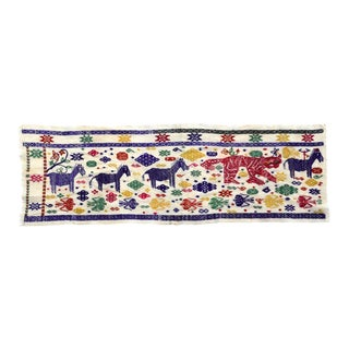 Laos/Vietnam Tai Embroidery Cloth For Sale