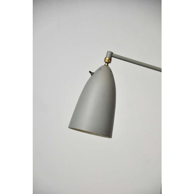 "Metal Greta Grossman 831 ""Grasshopper"" Floor Lamp for Ralph O. Smith For Sale - Image 7 of 9"