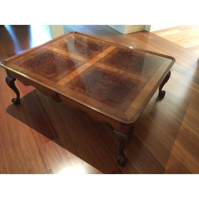 Chippendale Style Henredon Mahogany Coffee Table - Image 8 of 9