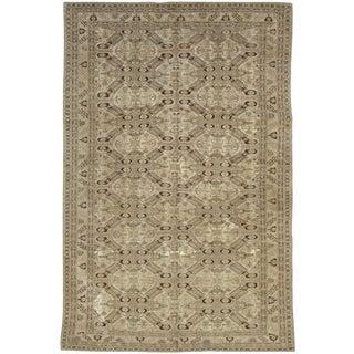 """Vintage Turkish Sivas Carpet - Size: 6' 4"""" X 9' 9"""" For Sale"""