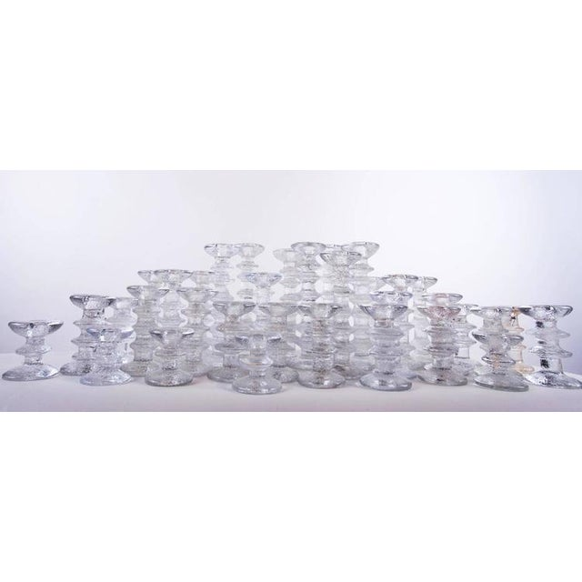 "1970s ""Ice Crystal"" Candlesticks - Set of 36 - Image 5 of 5"