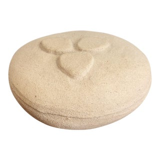 Organic Form Ceramic Pottery Lidded Box For Sale