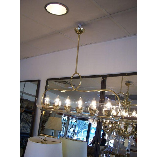 Fontana Arte Mid-Century Italian Six-Light Chandelier - Image 3 of 5