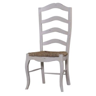 Ladder Back Chair Modern Farmhouse Kitchen Set of 4 Dining Chairs