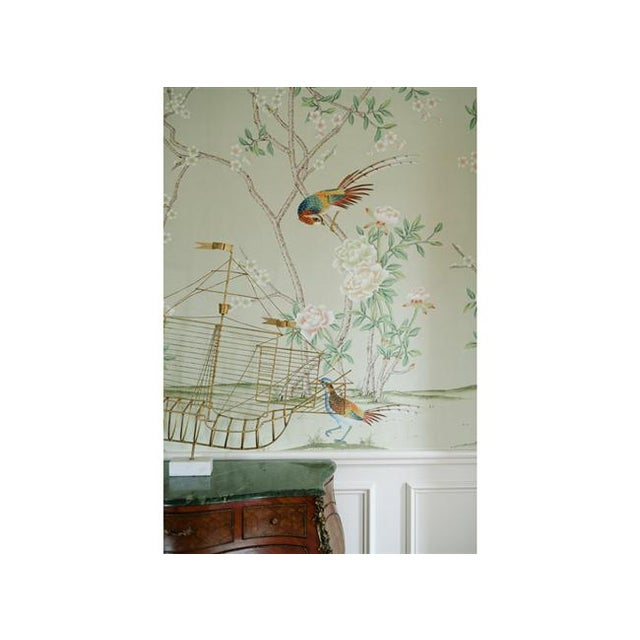 Casa Cosima Henri Green Mural - Sample For Sale - Image 6 of 7