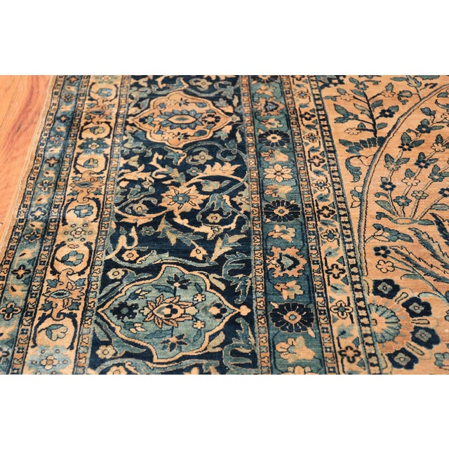 Antique Persian Kerman Oversized Vase Design Carpet - 13′6″ × 25′5″ For Sale - Image 12 of 13
