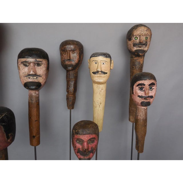 Early 20th Century Folk Art Sculptures For Sale - Image 5 of 8