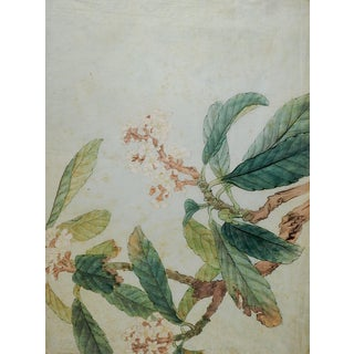 Hand Colored Japanese Woodblock Print For Sale