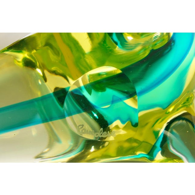 Mid-Century Modern Vintage Murano Glass Seals - a Pair For Sale - Image 3 of 6