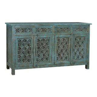Floral Geo Sideboard For Sale