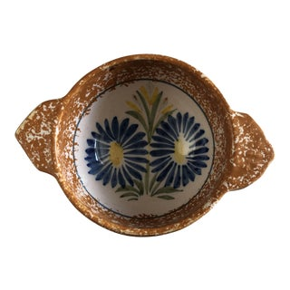 Henriot Quimper French Pottery Bowl For Sale
