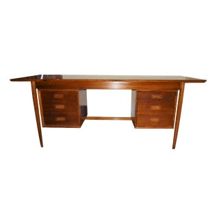 Vintage Mid-Century Office Desk For Sale