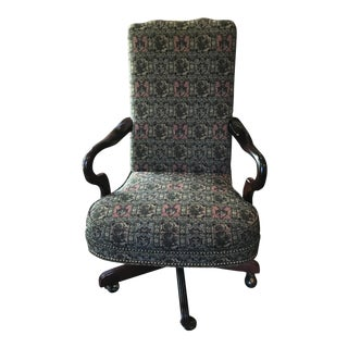 Upholstered Executive Desk Chair