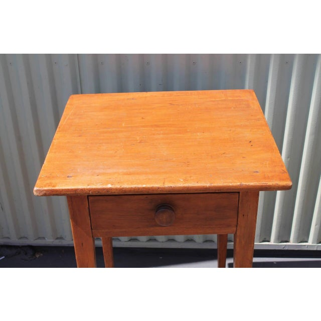 19th Country Side Table from Pennsylvania - Image 4 of 5