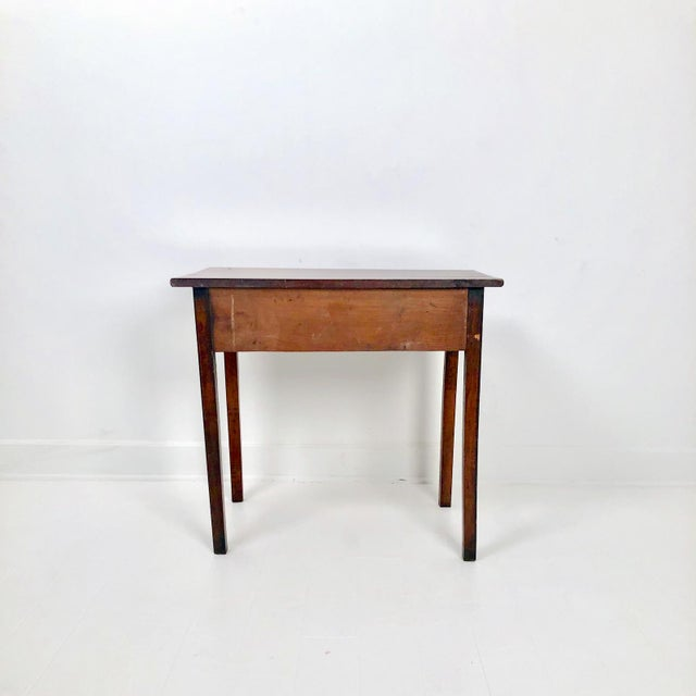 Chippendale Chippendale Mahogany One Drawer Table, England Circa 1780 For Sale - Image 3 of 7
