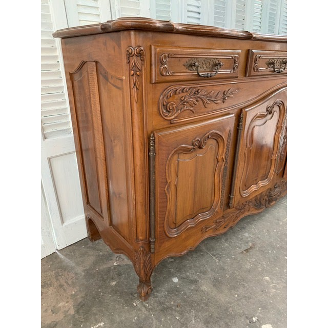 19th Century Louis XV Style Enfilade Buffet For Sale In Atlanta - Image 6 of 12