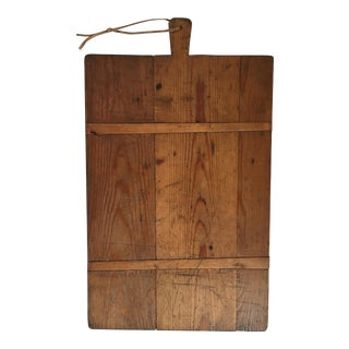 Large 1920s French Boulangerie Cutting / Bread Board For Sale