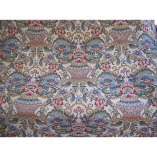 Belgian Wool Tapestry Fabric in Classic Design For Sale