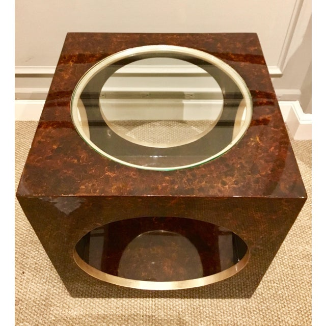 Roulette Side Table For Sale - Image 4 of 7