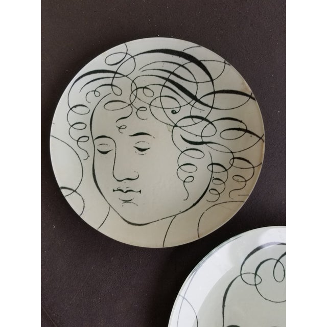 John Derian Glass Plates - a Pair For Sale - Image 4 of 7