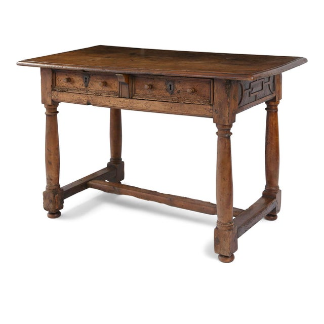 Early French Walnut Table For Sale - Image 13 of 13
