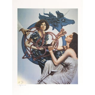 Robert Anderson, Blue Pegasus, Lithograph For Sale