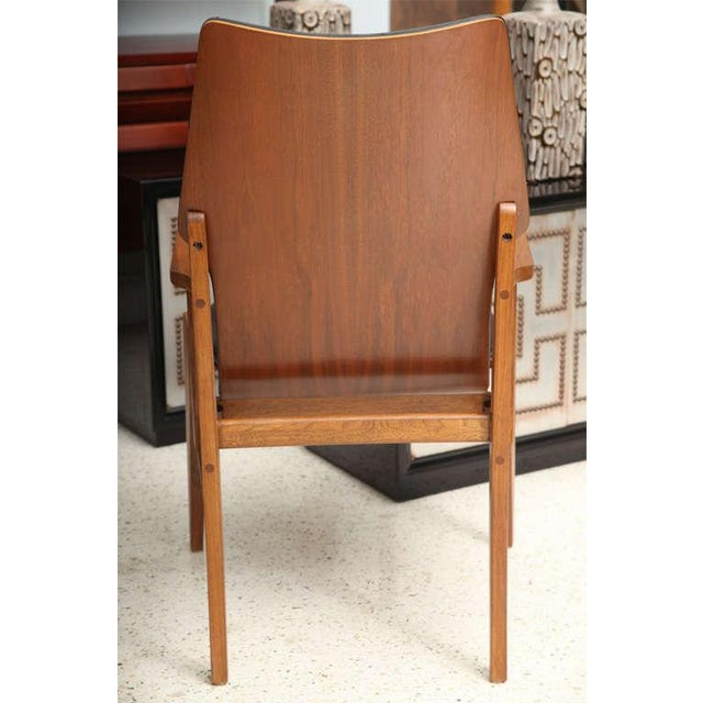 Pair of Danish Modern and Teak Armchairs For Sale In Miami - Image 6 of 11