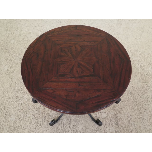 Theodore Alexander castle Bromwich round occasional table. From the castle Bromwich collection. Features factory...