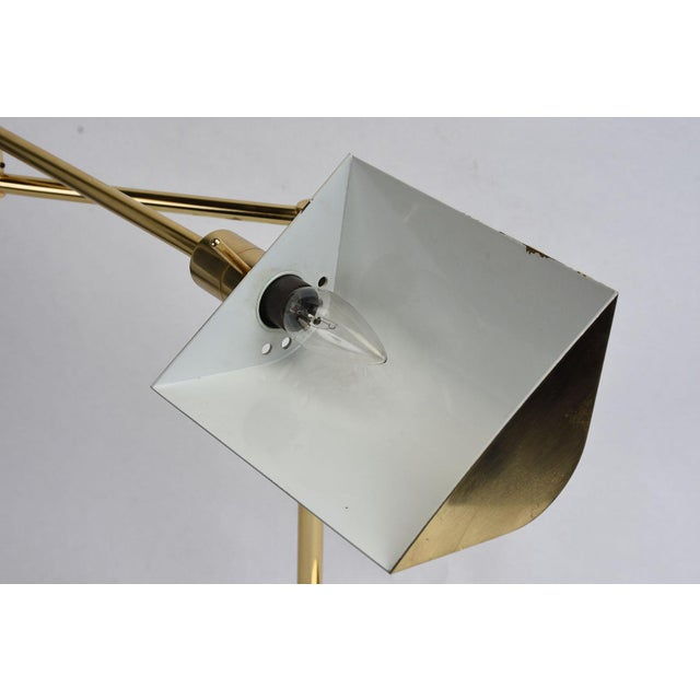 Vintage Brass Plated Table Lamp by Koch and Lowy - Image 5 of 8