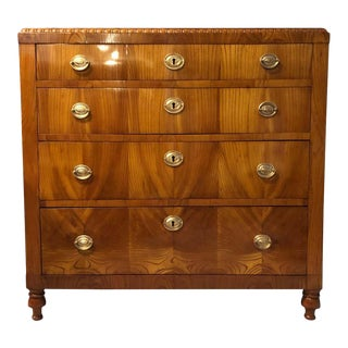 1830 Karl Johan Swedish Chest of Drawers For Sale