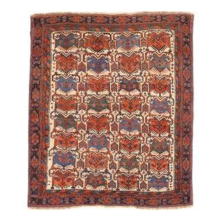 Antique Persian Area Rug Sirjan Design For Sale