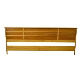 "Paul Frankl for Johnson Furniture ""Station Wagon"" King Size Headboard For Sale"