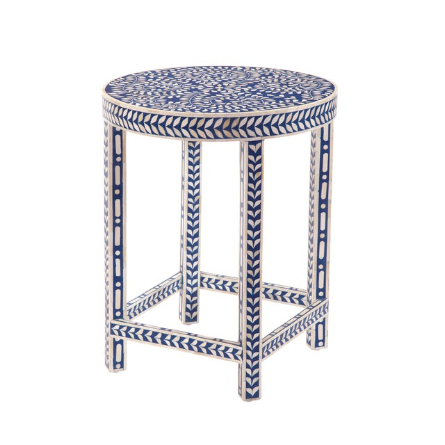 Welcome and wow guests to your home with this Imperial Beauty round foyer table. This intricately detailed table will...