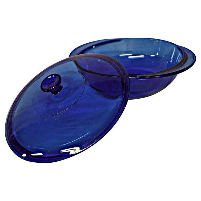 Anchor Hocking Cobalt Blue Lidded Tureen - Image 5 of 6