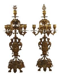 Image of Napoleon III Candelabras