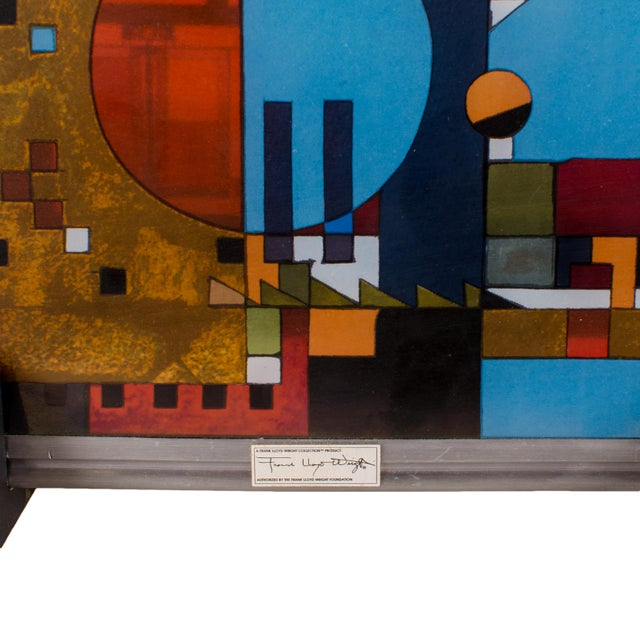 Frank Lloyd Wright Frank Lloyd Wright Stained Glass Panel Collection For Sale - Image 4 of 8