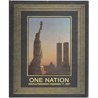 """2001 """"One Nation: America Remembers September 11, 2001"""" Coffee Table Book For Sale"""